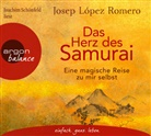 Josep López Romero, Joachim Schönfeld - Das Herz des Samurai, 3 Audio-CDs (Hörbuch)