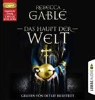 Rebecca Gablé, Detlef Bierstedt - Das Haupt der Welt, 4 Audio-CDs, MP3 Format (Hörbuch)