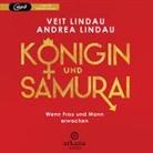 Andrea Lindau, Vei Lindau, Veit Lindau - Königin und Samurai, 1 Audio-CD, MP3 (Hörbuch)