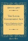 Unknown Author - The Local Government Act