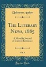 Unknown Author - The Literary News, 1885, Vol. 6