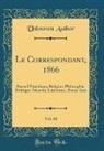 Unknown Author - Le Correspondant, 1866, Vol. 68