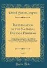 United States Congress - Investigation of the National Defense Program, Vol. 7