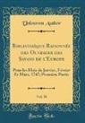 Unknown Author - Bibliothèque Raisonnée des Ouvrages des Savans de l'Europe, Vol. 38