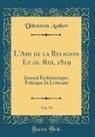 Unknown Author - L'Ami de la Religion Et du Roi, 1819, Vol. 19