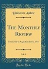 Unknown Author - The Monthly Review, Vol. 2