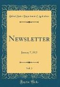 United States Department Of Agriculture - Newsletter, Vol. 3 - January 7, 1915 (Classic Reprint)