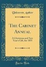 Unknown Author - The Cabinet Annual