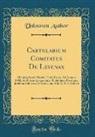 Unknown Author - Cartularium Comitatus De Levenax