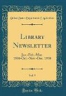 United States Department Of Agriculture - Library Newsletter, Vol. 9