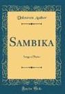 Unknown Author - Sambika