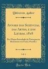 Unknown Author - Annaes das Sciencias, das Artes, e das Letras, 1818, Vol. 2