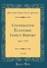 United States Department Of Agriculture - Cooperative Economic Insect Report, Vol. 22
