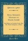 Unknown Author - Miss. Seward's Monody on Major Andrè