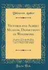 Unknown Author - Victoria and Albert Museum, Department of Woodwork
