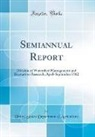 United States Department Of Agriculture - Semiannual Report