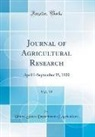 United States Department Of Agriculture - Journal of Agricultural Research, Vol. 19
