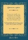Unknown Author - Verzeichnis der Bücher, Landkarten &C. Welche vom Januar bis June 1845 Neu Erschienen oder Neu Aufgelegt Worden Sind