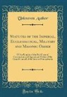 Unknown Author - Statutes of the Imperial, Ecclesiastical, Military and Masonic Order