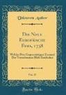 Unknown Author - Die Neue Europäische Fama, 1738, Vol. 37