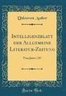 Unknown Author - Intelligenzblatt der Allgemeine Literatur-Zeitung