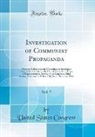 United States Congress - Investigation of Communist Propaganda, Vol. 5