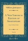 William Shakespeare - A New Variorum Edition of Shakespeare, Vol. 14