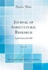 United States Department Of Agriculture - Journal of Agricultural Research, Vol. 13