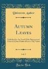 Unknown Author - Autumn Leaves, Vol. 5