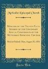 Methodist Episcopal Church - Minutes of the Twenty-Fifth Session of the Cincinnati Annual Conference of the Methodist Episcopal Church