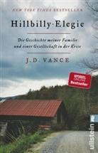 Vance, J D Vance, J. D. Vance - Hillbilly-Elegie