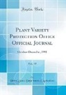 United States Department Of Agriculture - Plant Variety Protection Office Official Journal, Vol. 19