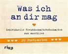 Alexandra Reinwarth - Was ich an dir mag - 20 Postkarten
