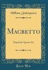 William Shakespeare - Macbetto
