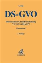 Caroly Eichler, Lorenz Franck u a, Peter Gola - Datenschutz-Grundverordnung (DS-GVO), Kommentar