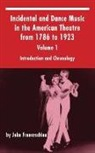 John Franceschina - Incidental and Dance Music in the American Theatre from 1786 to 1923