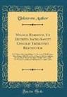 Unknown Author - Missale Romanum, Ex Decreto Sacro-Sancti Concilii Tridentini Restitutum