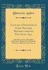 Unknown Author - Catalogus Venerabilis Cleri Diocesis Transsilvaniensis Pro Anno 1847