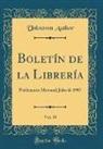 Unknown Author - Boletín de la Librería, Vol. 35