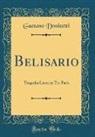 Gaetano Donizetti - Belisario