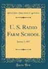 United States Department Of Agriculture - U. S. Radio Farm School