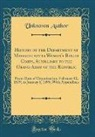 Unknown Author - History of the Department of Massachusetts Woman's Relief Corps, Auxilliary to the Grand Army of the Republic