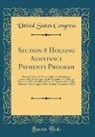 United States Congress - Section 8 Housing Assistance Payments Program