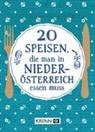 Emima Miriam Ilie, Hubert Krenn - 20 Speisen, die man in Niederösterreich essen muss