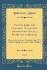 Unknown Author - Fünfzig Jahre der Geheimen Geschichte Frankreichs und des Hofes von Versailles, Vol. 3