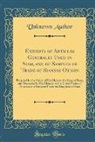 Unknown Author - Exhibits of Articles Generally Used in Siam, and of Samples of Trade of Siamese Origin