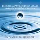 Dr. Joe Dispenza, Joe Dispenza, Joe (Dr.) Dispenza - Der gegenwärtige Moment voller unendlicher Möglichkeiten, 1 Audio-CD (Hörbuch)
