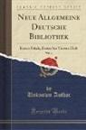 Unknown Author - Neue Allgemeine Deutsche Bibliothek, Vol. 33