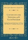 United States Department Of Agriculture - Continuity for National 4-H Club Program: National Farm and Home Hour, 12: 30 to 1: 30 P. M., E. S. T. Saturday, March 6, 1937 (Classic Reprint)