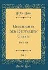 Felix Dahn - Geschichte der Deutschen Urzeit, Vol. 2